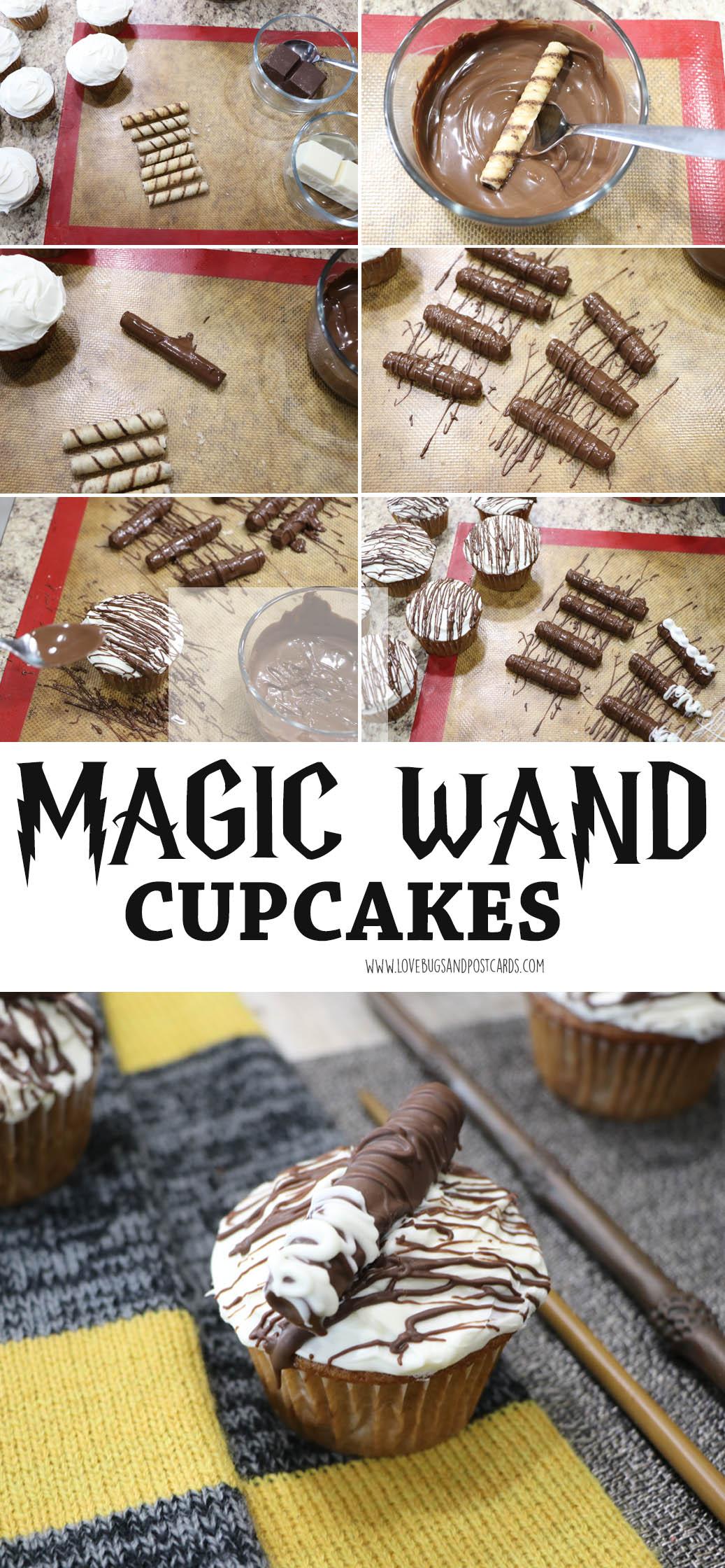 Magic Wand Cupcakes