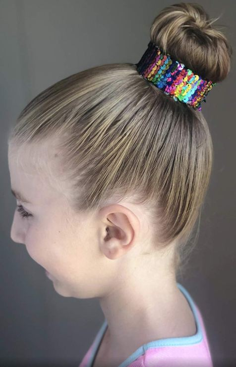 Unicorn Birthday Party Ideas - Unicorn Slap Bracelets with reversible sequins for party favors