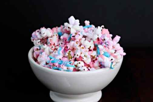 Unicorn Birthday Party Ideas - Unicorn Popcorn