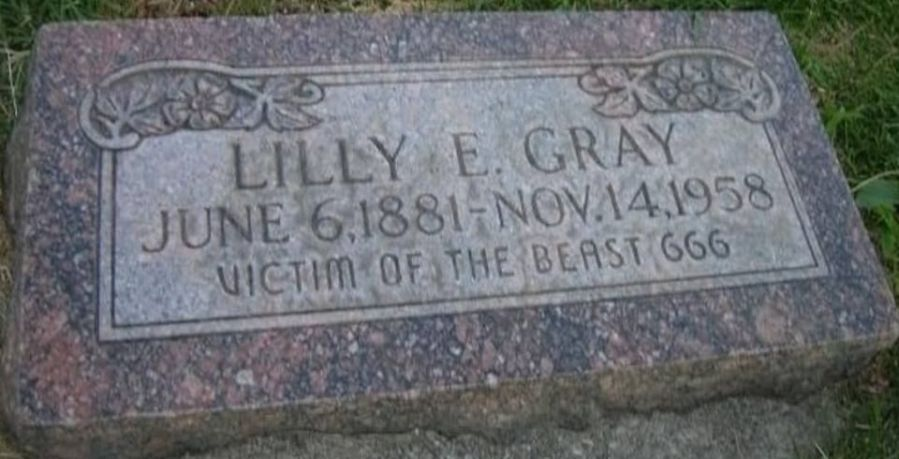 Victim of the Beast Grave site