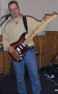 Rob grew to regret the granite guitar