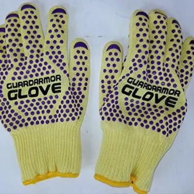 GuardArmor Heat Resistant Gloves Review | Cut Resistant Waterproof Gloves
