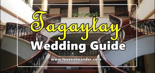 Tagaytay Wedding Guide