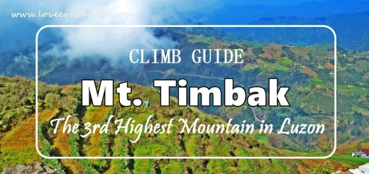Mt Timbak