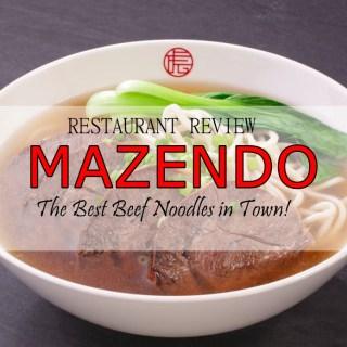 mazendo restaurant