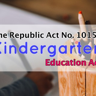 Kindergarten Education Act