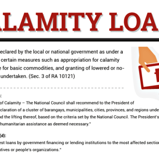 Pag-ibig and SSS Calamity Loan