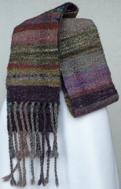 Tiree colours scarf sold