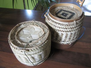 Bamboo Baskets from Laos