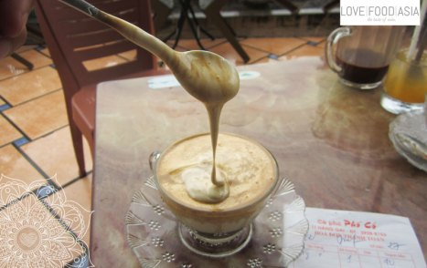 Egg Coffee - Ca Phe Trung