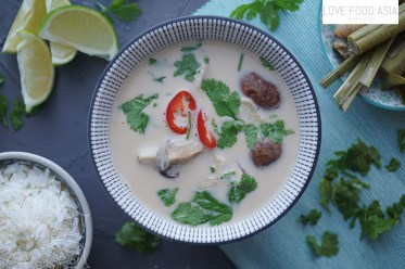 Thai Chicken and Coconut Soup (Tom Kha Gai)