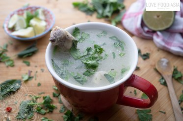 Cambodian Chicken Soup