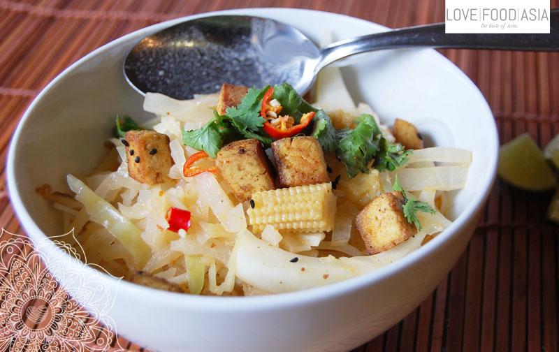 Vegan Khao Poon