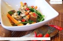 Thai Eggplant & Mushroom Curry