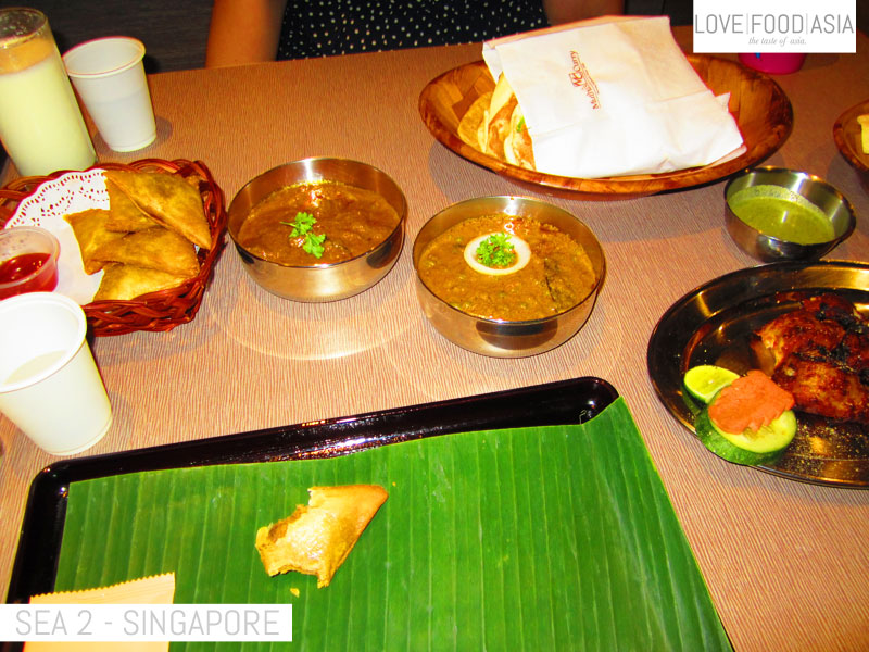 My first dinner in Asia