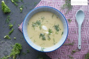 Asian Fennel and Sweet Potato Soup