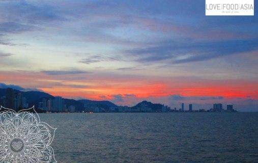 Sunset in Penang