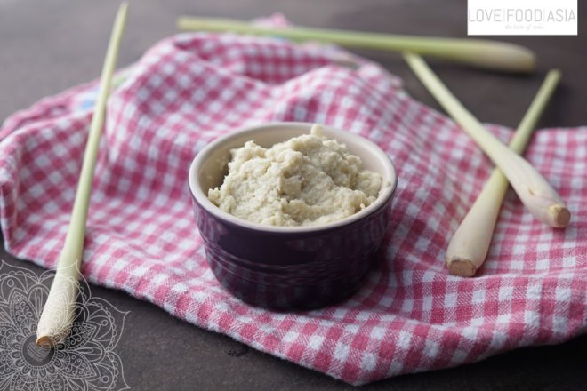 Knoblauch Ingwer Paste