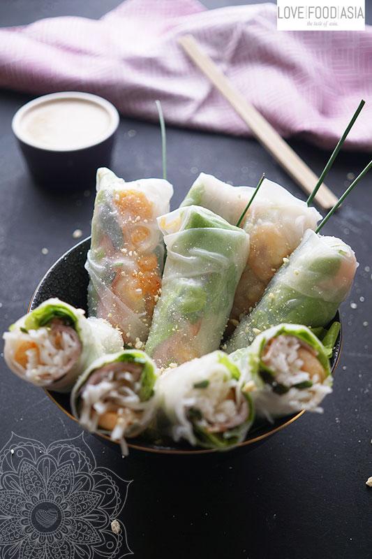 Vietnamesische Sommerrollen (Goi Cuon)