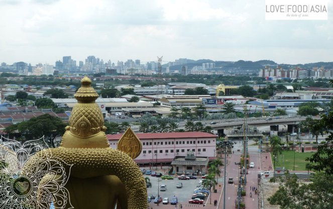 Der Blick auf Kuala Lumpur