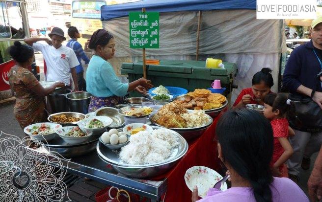 Rangoon Street Food