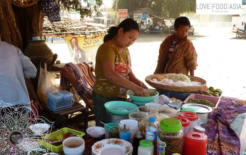 Street Food in Alt Bagan