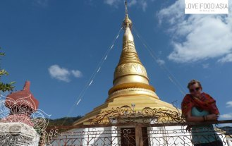 Stupa at Mountain Monastery