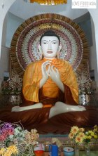 Buddha at Mountain Monastery