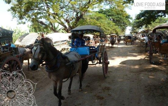 Kutsche in Inwa