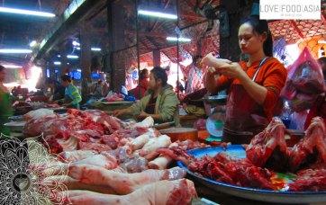 Markt in Luang Prabang