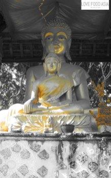 Buddha Statuen in Luang Prabang