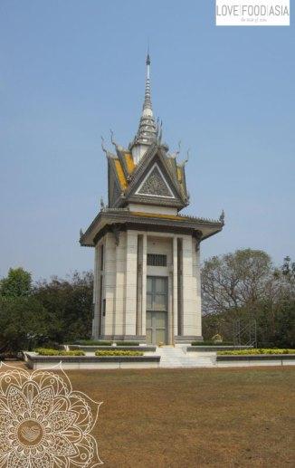 Die Killing Fields von Phnom Penh