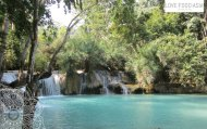The Kuang Si waterfall