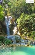 Die Kuang Si Wasserfälle in Laos