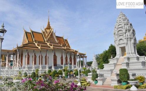 Silber Pagode Phnom Penh