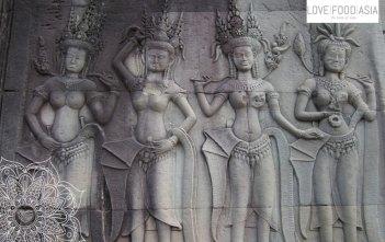 Ornaments at Angkor Wat