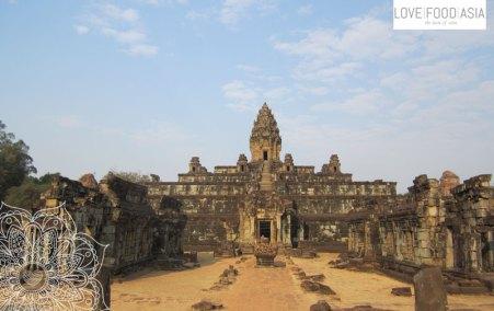 Ein Tempel in Angkor