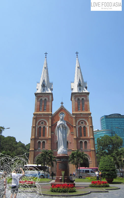 Saigon Kathedrale