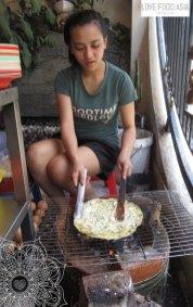 Zebereitung der Bánh txáng nuòng