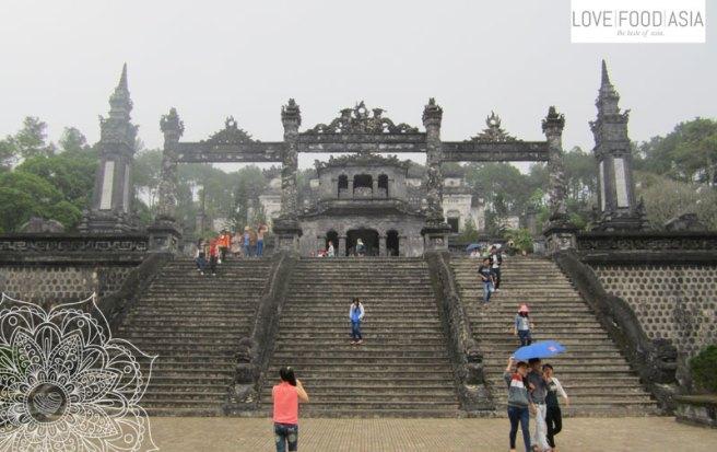 At the tombs of Hue