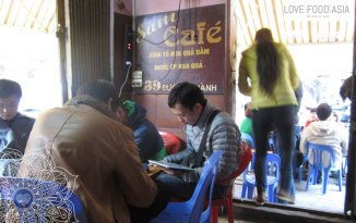Kaffee in Hanoi
