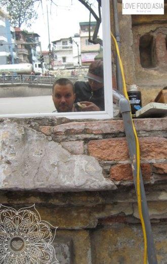 Haircut in Hanoi