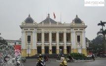 Der Präsidentanpalast von Hanoi