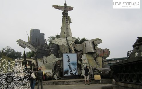 Militärhistorisches Museum in Hanoi