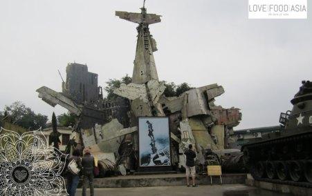 Vietnam Military History Museum in Hanoi