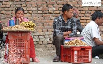 Auf den Straßen von Kathmandu
