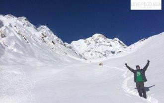 Deep snow at the ABC