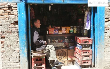 A small grocery in Pokhara