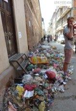 In the streets of Kathmandu