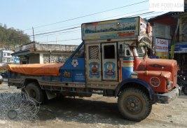 Truck in Pokhara